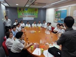 黃大仙區同行抗毒社區教育活動